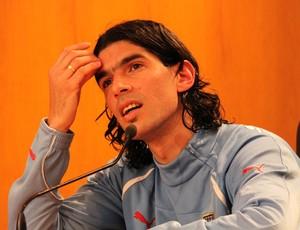 loco abreu uruguai coletiva (Foto: Joao Garschagen/Globoesporte.com)
