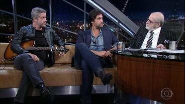Jô Soares entrevista a dupla Victor & Leo