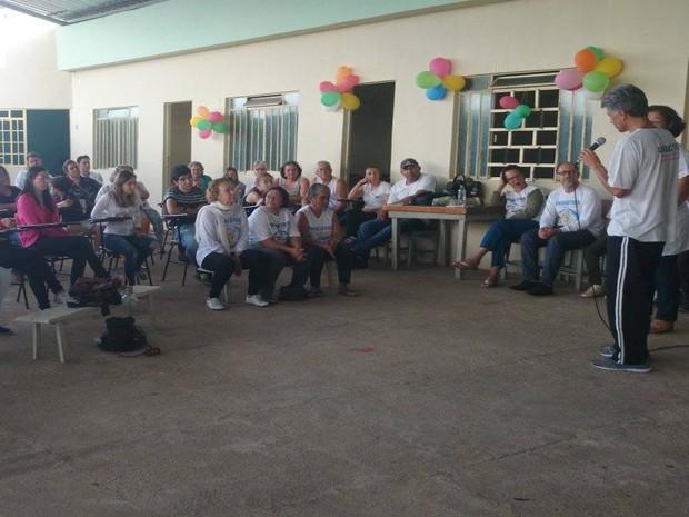 Unibiótica completou seis anos no Bairro Quintino em Divinópolis (Foto: Anna Lúcia Silva/G1)