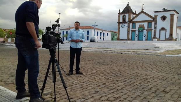 Clube Rural visita o município de Oeiras para mostra festival e riquezas das região  (Foto: TV Clube)