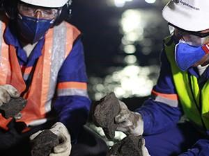 Funcionários da Anglo American em mina no Brasil (Foto: Divulgação)