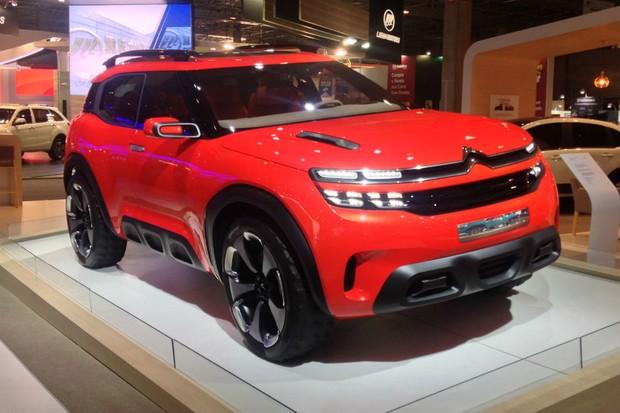 Citroën Aircross foi criado para o Salão de Xangai (Foto:  Julio Cabral/Autoesporte)