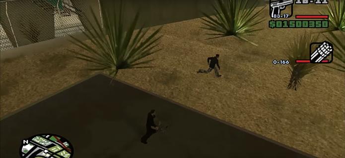 Vá para as ruas de GTA San Andreas (Foto: Reprodução/YouTube)