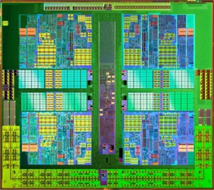 Núcleos de processamento (Foto: Reprodução)