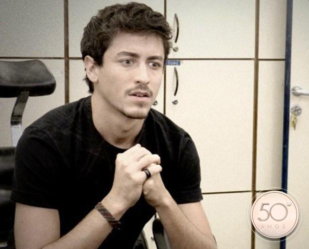 Jesuíta Barbosa sobre trabalhar com grande elenco: 'É sempre um desafio cada trabalho que acontece' (Foto: TV Globo)