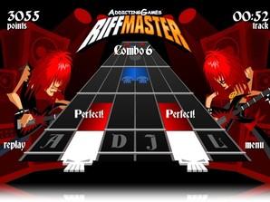 Guitar Master, similar ao Guitar Hero para Facebook