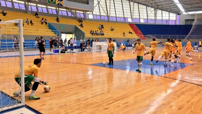 Barueri x Sorocaba amistoso futsal (Foto: Divulgação / Magnus Futsal)