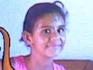 Menina de 11 anos foi atacada enquanto brincava (Foto: Arquivo Pessoal)