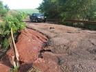 Chuva deixa interditada a PR-457, entre São Pedro do Ivaí e Itambé