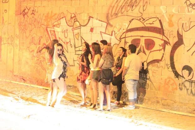 Fãs de Justin Bieber no Rio (Foto: Delson Silva e Gabriel Reis/Agnews)