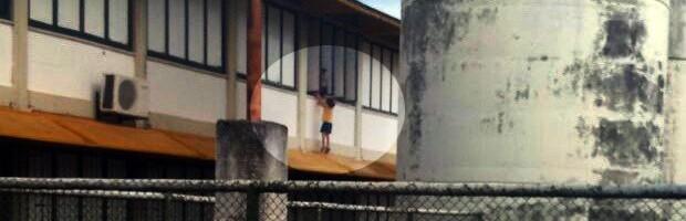 Criança na janela, Boa Esperança, retrospectiva (Foto: Reprodução EPTV)