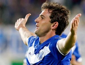 Montillo comemora gol do Cruzeiro (Foto: Washington Alves / VIPCOMM)