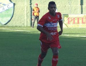 Diego Aragão, lateral do CRB (Foto: Leonardo Freire/GloboEsporte.com)