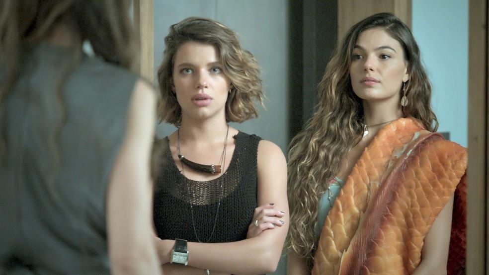 Cibele leva Ritinha para casa de Ruy (Foto: TV Globo)