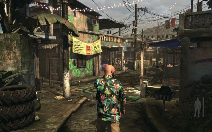 Max Payne 3 se passa no Brasil (Foto: Divulgação/Rockstar)