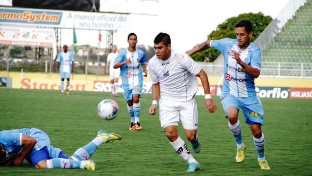 Bragantino Paysandu Paulinho Eduardo Ramos (Foto: Fabio Moraes/ Divulgação)