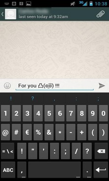 screenshot de Emoticons for WhatsApp
