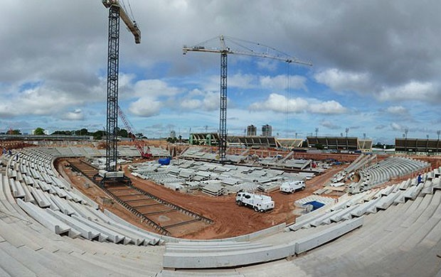 Obras arena Amaz&#244;nia (Foto: Divulga&#231;&#227;o / Site oficial da Fifa)