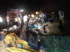 Quatro pessoas morrem em um acidente na BR-116, em Teófilo Otoni