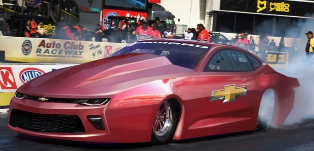 Chevrolet Pro Stock Camaro SS para corridas de arrancada (Foto: Divulgação)