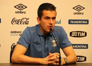 Marcelo Grohe Grêmio  (Foto: Eduardo Moura/GloboEsporte.com)