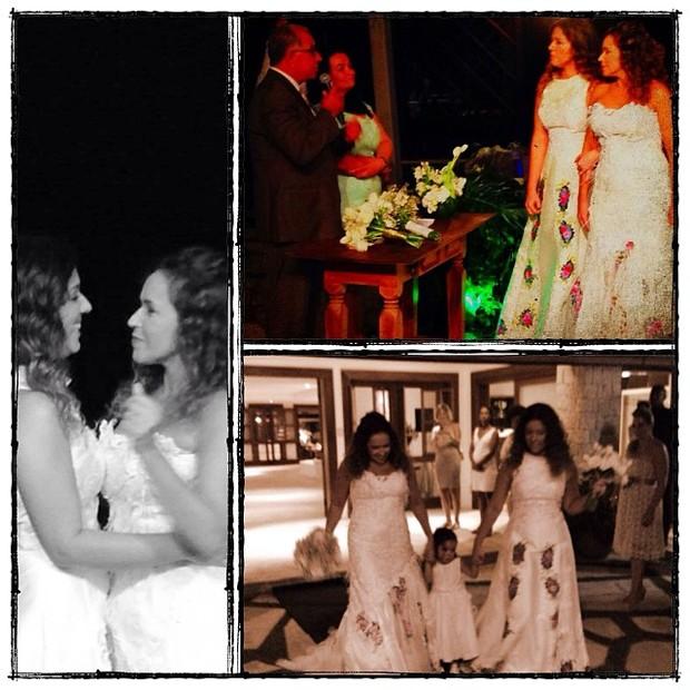 Casamento de Daniela Mercury e Malu Verçosa (Foto: Reprodução/Instagram)