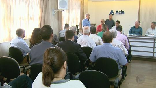 Empresários negociam serviço estadual de voos em Poços de Caldas