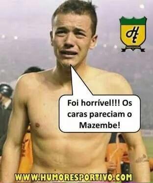 Tigres x Internacional Inter Libertadores corneta eliminação (Foto: Reprodução)