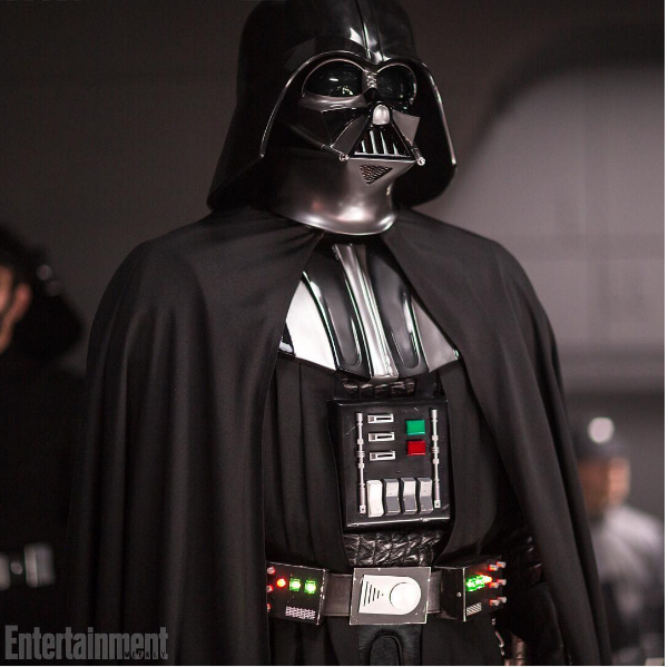 O vilão Darth Vader (Foto: Instagram)