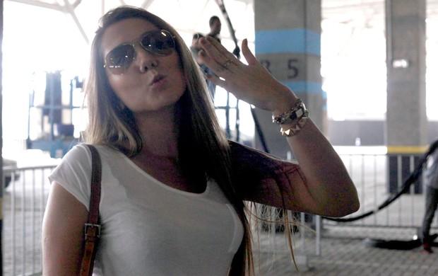 Carol Portaluppi, filha do Renato Gaúcho estádio Grêmio (Foto: Wesley Santos/ Agência PressDigital)