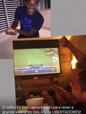 Mancini provoca torcida do Cruzeiro nas redes sociais (Foto: Reprodução / internet)