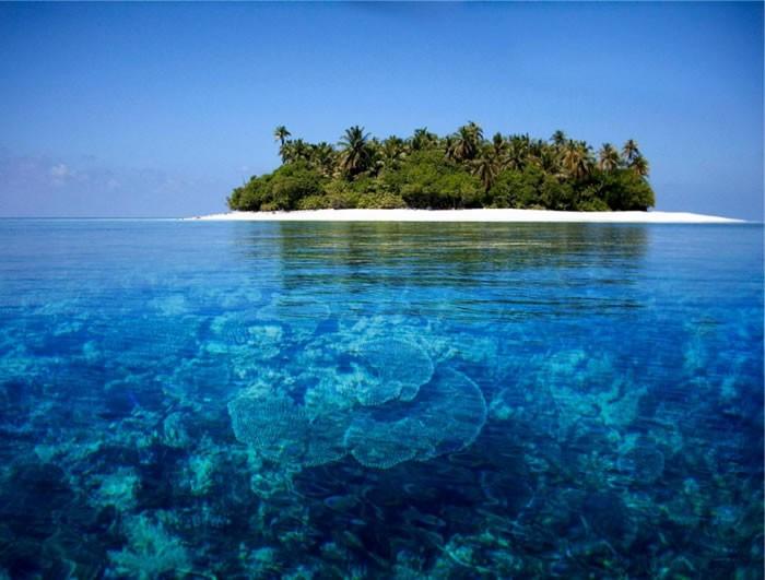 As Maldivas (Foto: Reprodução)