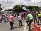 Manifestantes fazem protesto contra Lula na Avenida Paulista