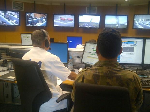 Operação Águia I/2013, no Centro de Lançamento de Alcântara (Foto: Sidney Pereira/TV Mirante)