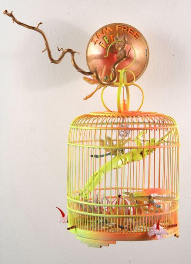 Assemblage I Am Free - I Feel Free, de Rudy van der Velde (Foto: divulgação)