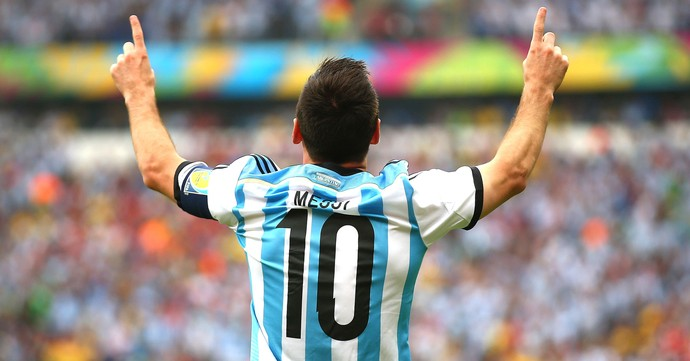 Messi Nigéria e Argentina (Foto: Getty Images)