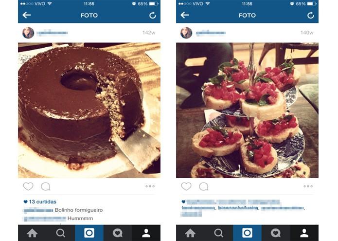 Projeto do Google busca criar ferramenta que conta caloria de fotos no Instagram (Foto: Reprodução/ Gabriella Fiszman)