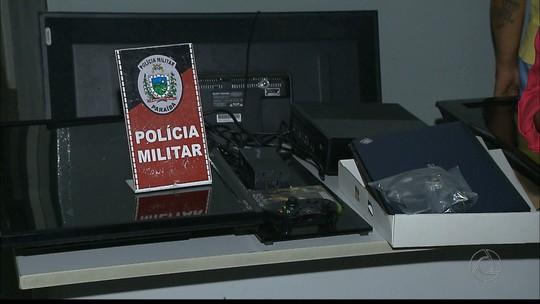 Dupla é presa suspeita de vender eletrônicos roubados em Cabedelo