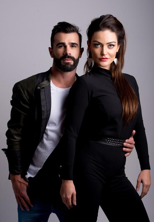 Laura Keller e Jorge Sousa (Foto: Bruno Romão/R2assessoria/Divulgação)