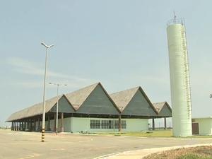 Aeroporto de Aracati (Foto: TV Verdes Mares/Reprodução)