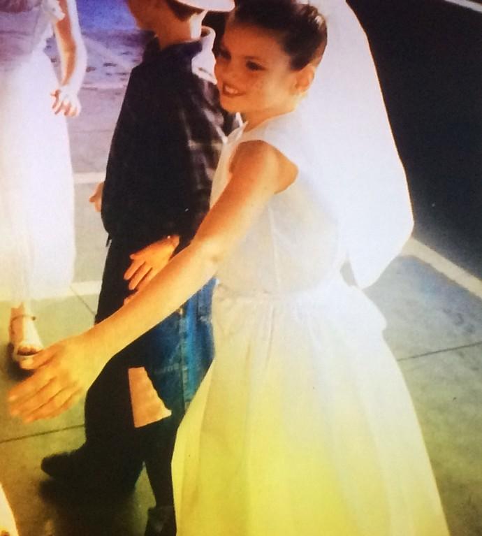Camila conta que na infância era sempre a 'noivinha'  (Foto: Arquivo Pessoal )