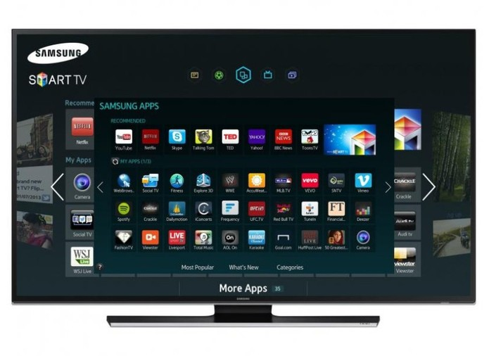 Samsung Serie 7 traz resolução 4K por um preço inferior aos concorrentes (Foto: Divulgação/Samsung)