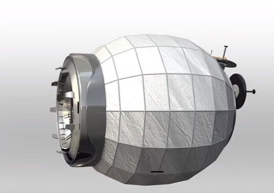 Beam - o módulo inflável da Nasa. Ele poderá ser mandado a Marte, e baratear o custo das viagens espaciais (Foto: Época)