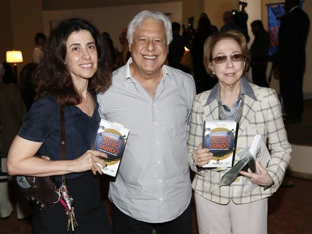 Fernanda Torres, Antônio Fagundes e Fernanda Monte Negro (Foto: Alex Palarea / Felipe Assumpção)