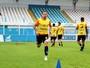 Paysandu treina durante a tarde; meia Cleyton é liberado pelo DM bicolor