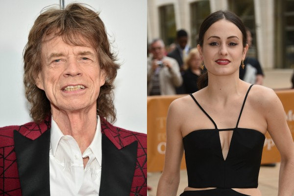 Mick Jagger e Melanie Hamrick (Foto: Getty Images)