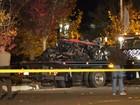 Após acidente, carro em que Paul Walker estava é retirado do local