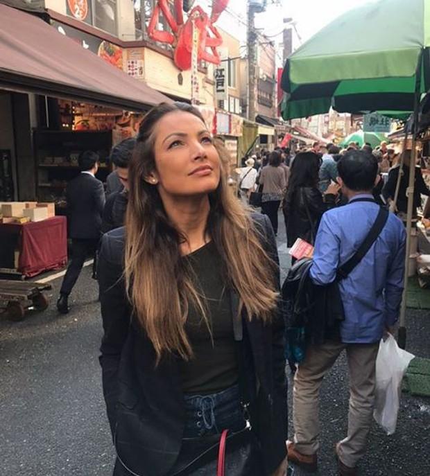Patrícia Poeta no Japão (Foto: Reprodução/Instagram)