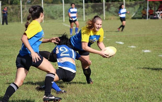 Time de rugby treina 4 vezes por semana em Palmas (Foto: Divulgação/Kelly Regis)