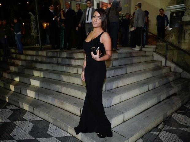 Rafaella Santos em casamento em São Paulo (Foto: Francisco Cepeda/ Ag. News)